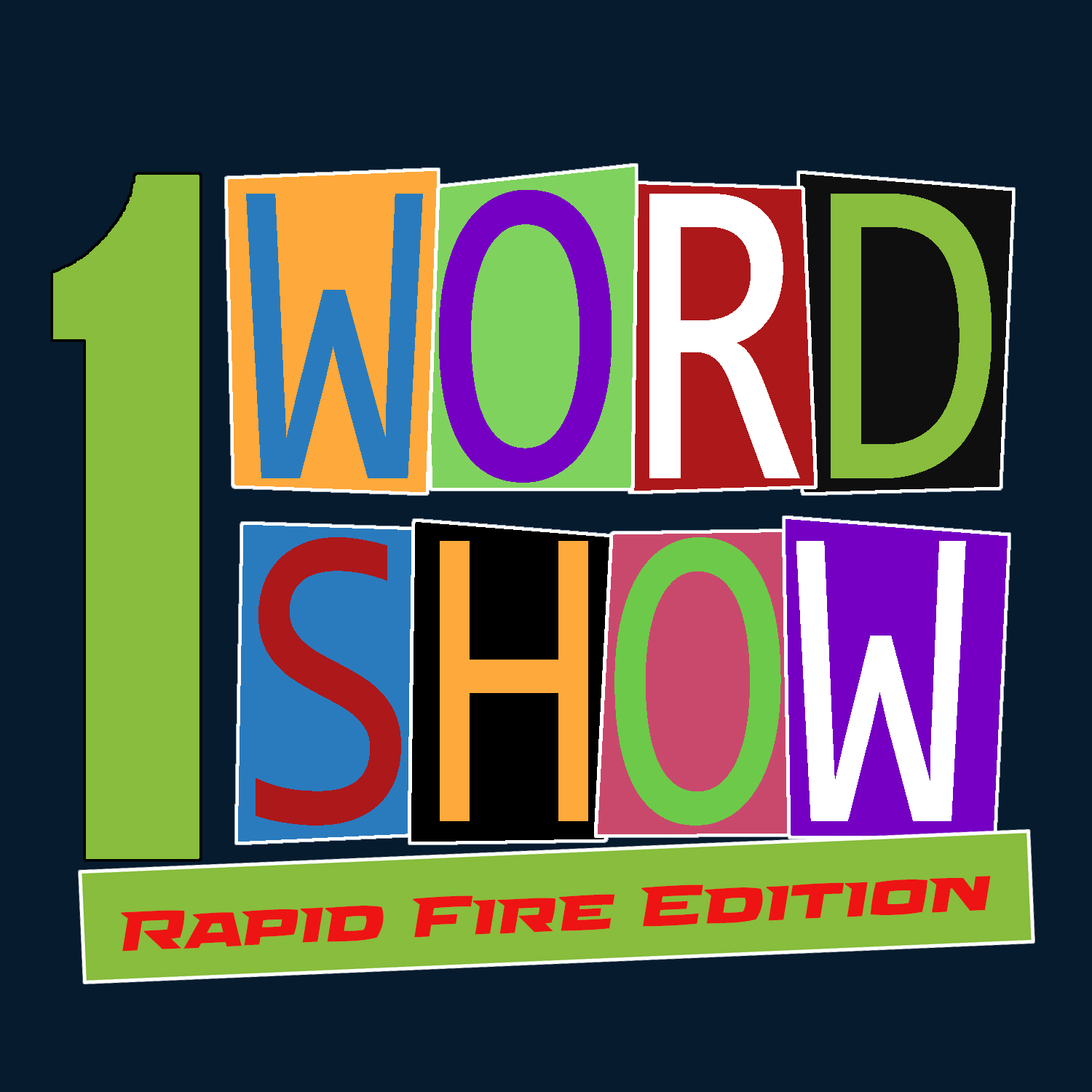 1 Word Show - Rapid Fire Edition Logo